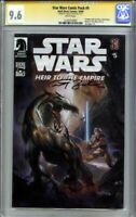 🌟 TIMOTHY ZAHN SIGNED! CGC 9.6 NM+ STAR WARS HEIR TO THE EMPIRE #5 Comic Pack 9