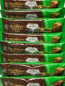 Old Town 3-In-1 Instant Premix Hazelnut White Coffee 60 Sticks x 38g