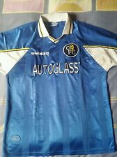 camisetas jersey shirt maillot UMBRO CHELSEA ENGLAND VINTAGE XL