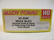 Alloy Forms 1:87 Mack B 61   Kipper mit 12 Ft Aufbau -  Bausatz