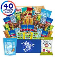 My College Crate Ultimate Healthy Snack Care Package for College Students