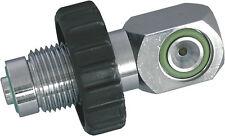 OTTER 232 BAR A-clamp/300 BAR DIN Male Charging adaptor. - AD A3DM