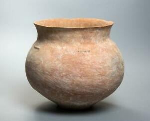 Large Early Bronze Age Holy Land Decorated Pottery Jar