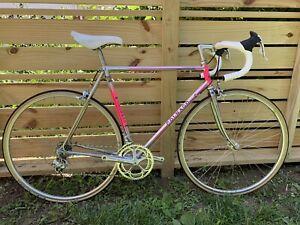 Colnago Master Team/Pro. Campagnolo record. Gilco Steel 56cm  Circa 1987 Pink!