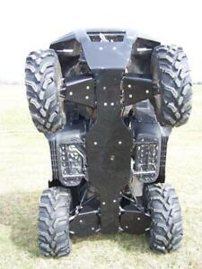 """Brute Force Skid Plates and A arm guards 1/4"""" HDPE -All years"""