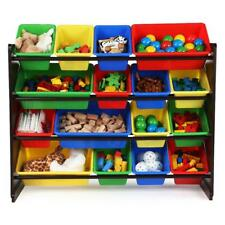 Tot Tutors Discover Super-Sized Toy Storage Organizer - Walnut/Espresso