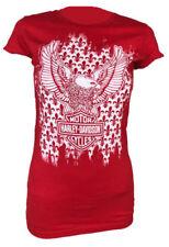 Maglie e camicie da donna rossi Harley-Davidson