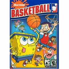 Nicktoons Basketball (SpongeBob Jimmy Neutron) Windows PC Computer Game Rated E