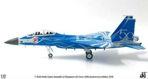 JC Wings 1:72 Singapore Air Force (RSAF) F-15SG '50th Anniv.' 8319 with Stand
