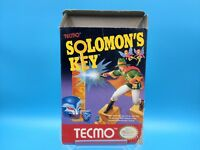 jeu video nintendo nes complet BE solomon's key EEC notice FRA