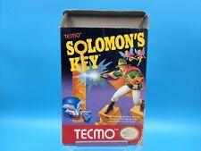jeu video nintendo nes complet BE solomon's key EEC notice FRA