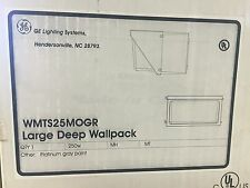 GE Lighting Systems WMTS25MOGR Large Deep Wallpack 250W
