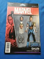 SHURI 1 MARVEL COMICS 2018 ACTION FIGURE VARIANT BLACK PANTHER RIP C.B.