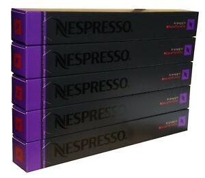 50 ORIGINAL NESPRESSO COFFEE CAPSULES PODS - ARPEGGIO DECAFFEINATO (Intensity:9)