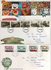 GREAT BRITIAN FIRST DAY COVERS POSTAGE STAMPS X 3