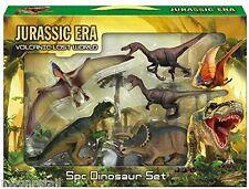 5PC Jurassic ère Dinosaure Action Figures T Rex Triceratops monde animal Jeu Jouet