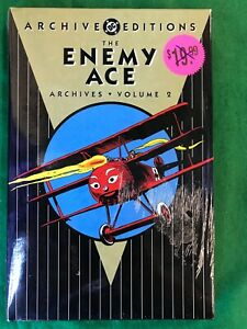 DC Archives: Enemy Ace Volume 2 SEALED HARDCOVER HC Book (T 2911