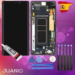 "Vidrio táctil + LCD en marco para Samsung Galaxy Note 9 SM-N960 6,4"" Negro"