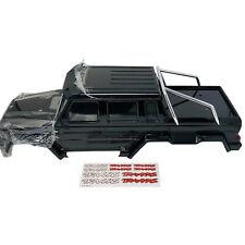 Traxxas TRX6 Mercedes-Benz G 63 Complete BodyShell - Gloss Black Metallic 8825R
