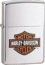 Zippo Harley Davidson H-d - Chrome Brushed