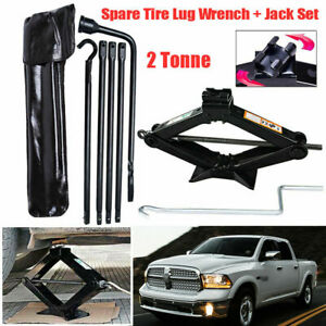Dr.Roc Compatible with Spare Tire Tool Kit with Durable Bag 2003-2018 Dodge Ram 1500 and 2019 Ram 1500 Classic