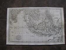 1798 ORIGINAL Map of Indonesia, Viet Nam, Thiland, Cambodia, Phillilline Islands