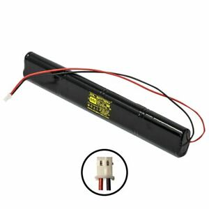 9.6v 900mAh Ni-CD Rechargeable Battery Pack Replacement for Exit Sign Emergency