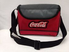 Coca-Cola Thermal insulated lunch box cooler bag Coke Gray & Red