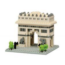 Nano bloques Arc de Triomphe Mini Ladrillos Rompecabezas nanoblock Gran Regalo