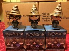 Funko Harry Potter Series 2 Mystery Minis Sorting Hat Harry, Hermione & Ron Set