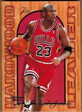 Michael Jordan 1995-96 Fleer Flair Hardwood Leaders Card #4 NBA GOAT