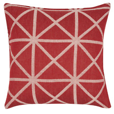 Elle Red Base 45x45cm Cushion Cover RRP $ 27.95 Brand New AUS Seller & Stock
