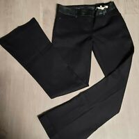 EUC The Limited 678 Women's Jeans Fit and Flare Black Dark Denim Size 4 Regular