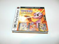 Spyro Collectors Edition Set of 3 Playstation 1 2 PS1 Games ALL Complete MINT