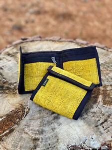 Handmade Himalayan Hemp Bi-fold Wallet (Color Options)|Boho Hippie Wallet