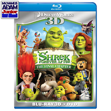 SHREK FOREVER AFTER: THE FINAL CHAPTER Blu-ray 3D + 2D + DVD