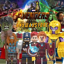 NEW Super Heroes Minifig Marvel AVANGERS Infinity War   End Game Fits lego block