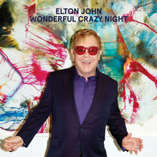 ELTON JOHN Wonderful Crazy Night 2016 10-track CD album NEW/SEALED