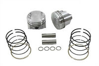 "80"" FLH-FX Piston Set .010 Oversize,for Harley Davidson,by Keith Black"