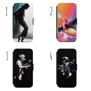 Michael Jackson Pop King Flip Wallet Phone Case Cover for All iPhone & Samsung