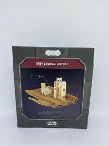 Disney Parks Star Wars Galaxy Edge Data Storage Unit USB New with Box