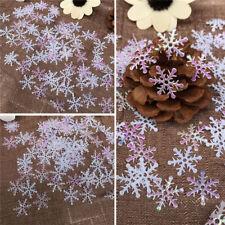 300pcs Lots Snowflake Christmas Decoration Xmas Tree Ornaments Home Party Decor
