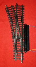 Märklin: K-Gleis E- Weiche 2261 links, mit Antrieb 7549 , funktionsgeprüft!
