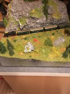 Diorama Berglandschaft Modelleisenbahn