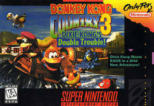 Donkey Kong Country 3 III - SNES Super Nintendo Game
