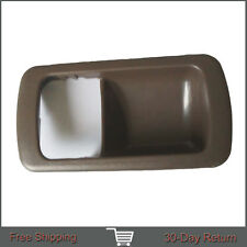 Fit 92-96 Toyota Camry Inside Right Passenger Side TAN Front Door Handle Cover