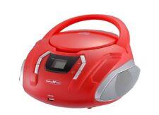 Reflexion CDR2250U Bk Vhf Radio with CD/MP3/USB/Aux-In Red