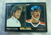 1981/1993 Wayne Gretzky Now & Then Pinnacle Hockey Trading Card #237 - MINT