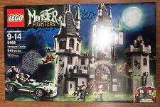 New & Retired LEGO Monster Fighters Set 9468 Vampyre Castle Sealed Box