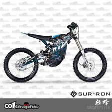 GRAPHICS DECALS STICKERS FULL KIT FOR SURRON LIGHT-BEE FIREFLY ELECTRIC MX BIKE
